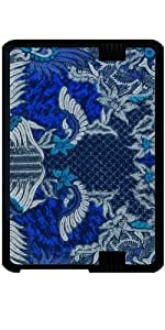 "Funda para Kindle Fire HD 7"" (2012 Version) - Batik Bali Bleu"