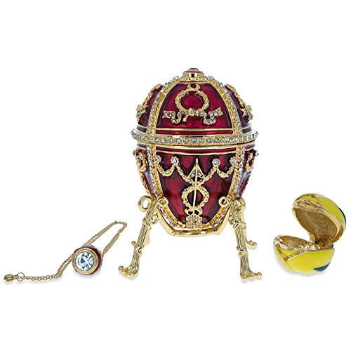 - BestPysanky 1895 Rosebud Royal Russian Egg