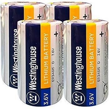 Amazon.com: EEMB - Batería de litio de 3,6 V tamaño D ...