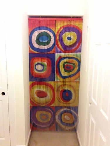 Kandinsky Beaded Curtain