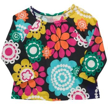 Carters Baby Girls' Multi Floral Long Sleeve Tunic