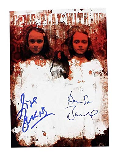 Nerd Block The Shining Twins Lisa and Louise Burns Autographed Picture]()