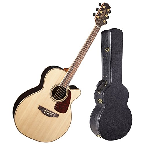 Takamine GN93CE-NAT Gloss Natural NEX Acoustic Electric Guitar w/ Hardshell Case ()