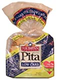Toufayan Bakeries Low Carb Pita Bread, 6 Loaves