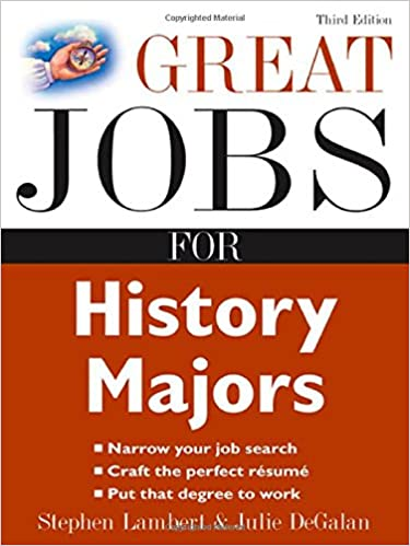 Amazon.com: Great Jobs for History Majors (Great Jobs for ...