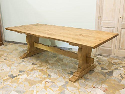 Ebanisteria Gambella - Mesa de comedor rustica