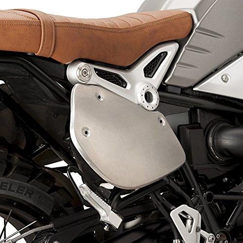 Side cover, Puig, BMW, R NineT, Scrambler, Pure, Racer, Urban G, S 14-17, silver