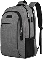 Mancro Large School Backpack for Women and Men
