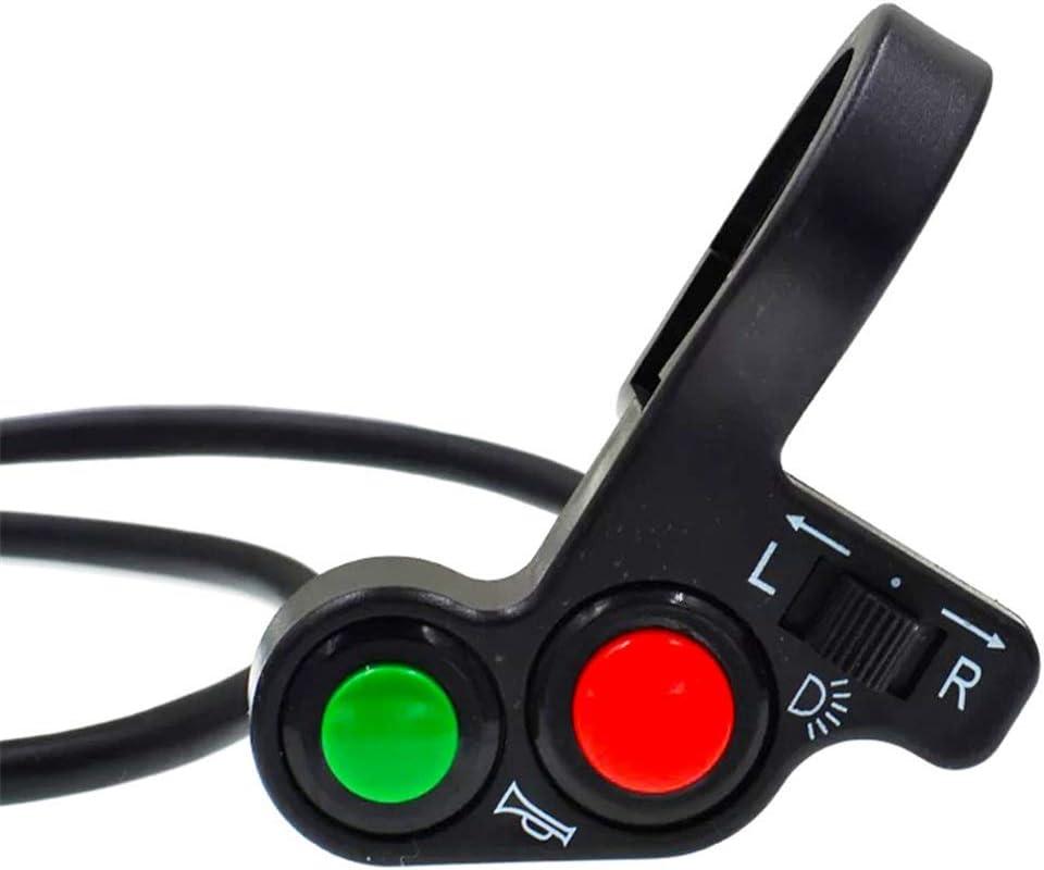 Piezas de la motocicleta para la venta Motocicleta Triciclo eléctrico Interruptor multifunción modificado Señal de giro Bocina Faros Tres y un interruptor