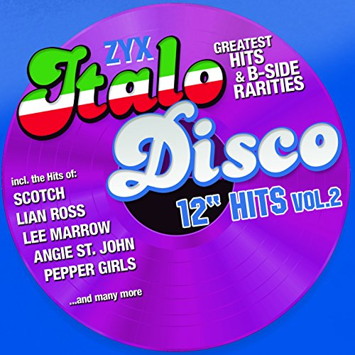 "ZYX Italo Disco 12"" Hits 2 (Jewel Case Packaging, 2PC)"