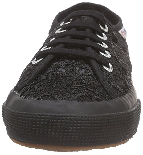 996 Women's 2750 Macramew Sneakers Superga Black Black Full B8qwgBXSx