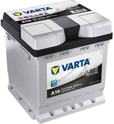 A16 Varta Black Dynamic Car Battery 12V 40Ah Type 202 540406034