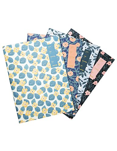 What's Fun B5 Theme designed Softcover College Ruled Notebook/Composition/Journals/Dairy/Office Note Books Set of 4 Per Pack (Chole's (Love Notes Notebook)