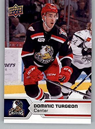 c9f07aa2674 Amazon.com  2017-18 Upper Deck AHL  62 Dominic Turgeon Grand Rapids  Griffins  Collectibles   Fine Art