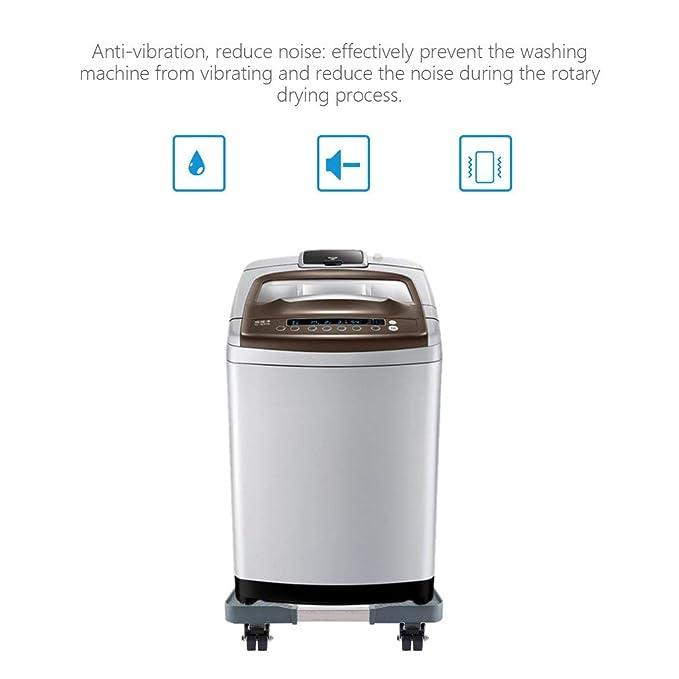 Base ajustable para lavadora, carro de aparato de acero inoxidable ...
