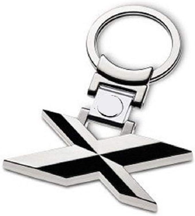 Madison Bogoo 3d Metall Chrom Für 1 3 5 6 X Serie Autoschlüsselanhänger Auto Logo Bekleidung