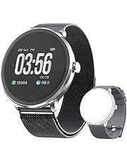 Bebinca Smartwatch Bluetooth5.0 hjärtfrekvens och blodtryck sömnmonitor kaloriräknare lång batteritid + 1 gratis rem