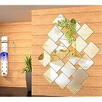 Art 3d Acrylic Mirror Wall Sticker Home Decor Diy Kitchen Living Room Tv Background Decoration
