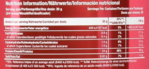 Scitec Nutrition Protein 100% Whey Protein Professional+ISO, Mandel-Kokosnuss, 870g
