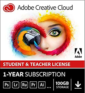 Adobe Creative Cloud Photography plan 20GB: Photoshop +