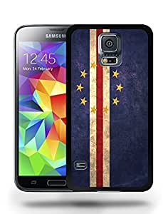 Cape Verde National Vintage Flag Phone Case Cover Designs for Samsung Galaxy S5