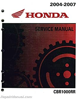 61mel03 2004 2007 honda cbr1000rr motorcycle service manual rh amazon com 2007 cbr1000rr service manual free download 2007 cbr1000rr service manual free download