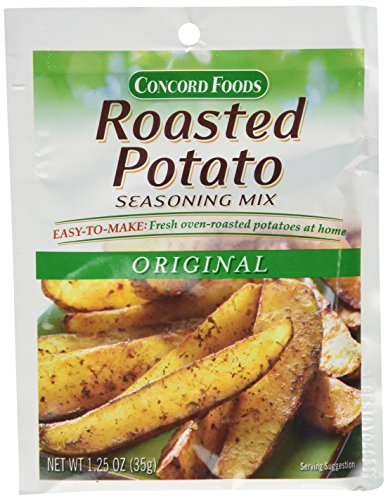 1 Packet Mix (Concord Foods Roasted Potato Seasoning Mix (1 packet - seasons 5 pounds of potatoes))