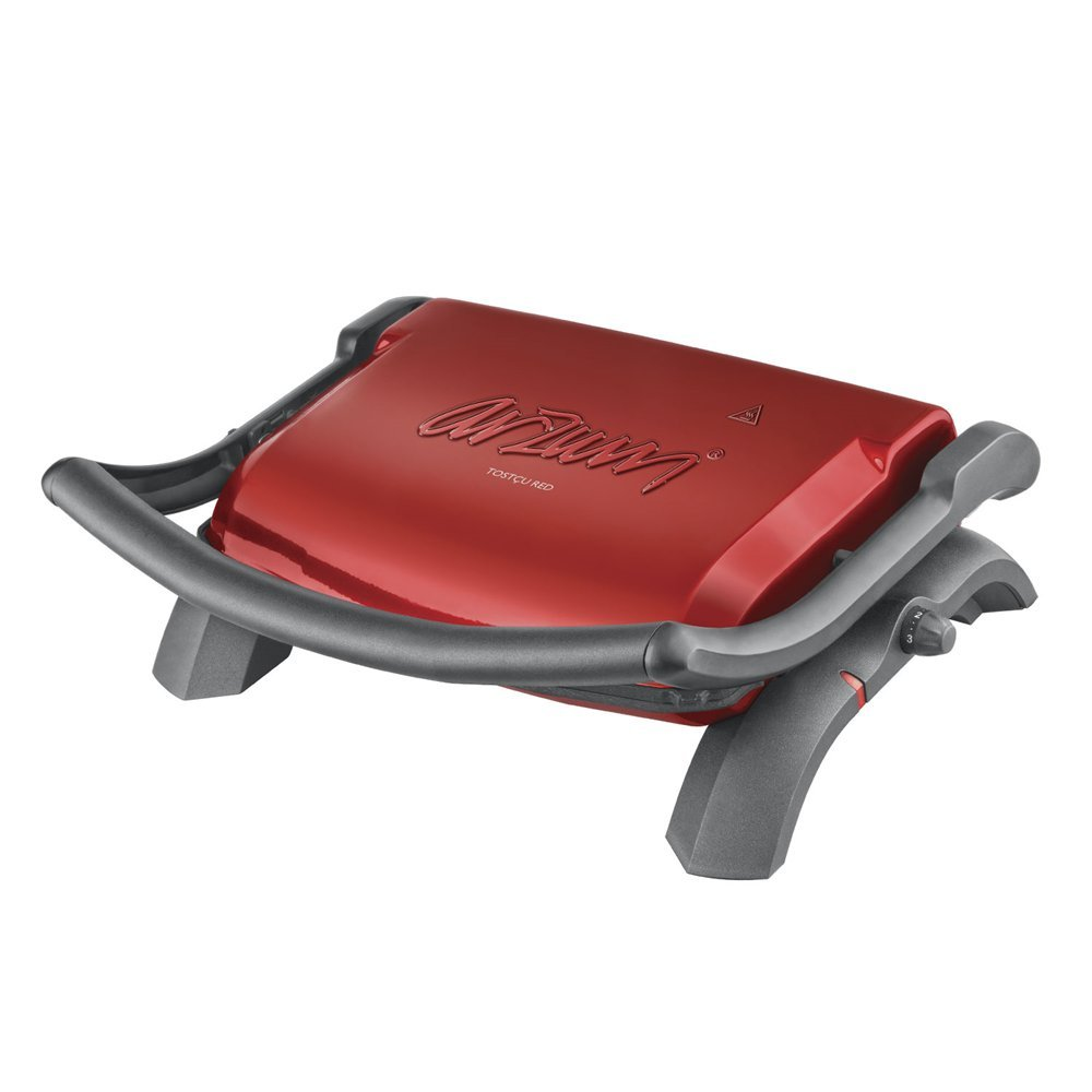 Arzum tostcu Red Grill a contatto e tostiera AR290