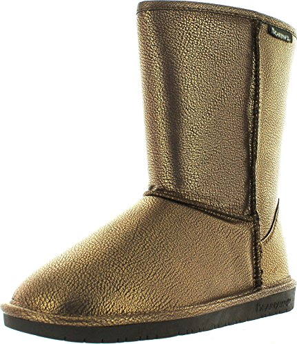 Bearpaw Dames Emma Shortboot, Chocolade, 9