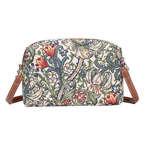 Bag Hip The Acrossbody Travel Donna Tappezzeria Lily Signare Gold Moda 7gqUxn