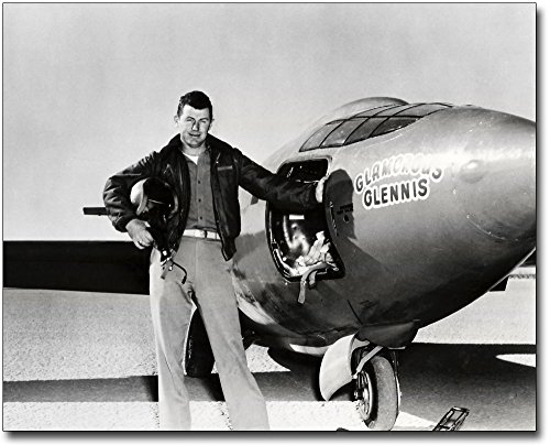 Bell X-1 Chuck Yeager Sound Barrier 11x14 Silver Halide Photo Print