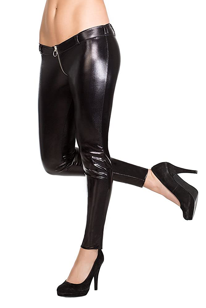 Coquette Women's Darque Wet Look Pants Coquette Lingerie D9245