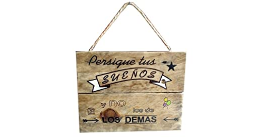 Cartel Madera decoracion hogar, frases motivadoras, original ...