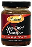 jar of tomatoes - Roland Sun-Dried Tomatoes in Extra Virgin Olive Oil, 3 Ounce (Pack of 4)