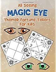 All Seeing Magic Eye Themed Fortune Tellers For Kids: 30 Fun DIY Magic Eye Themed Fortune Teller Origami Catchers For Kids