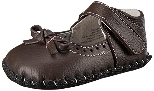 pediped Originals Isabella Mary Jane (Infant),Chocolate Brown,Medium (12-18 Months) (Pediped Boys Dress Shoes)