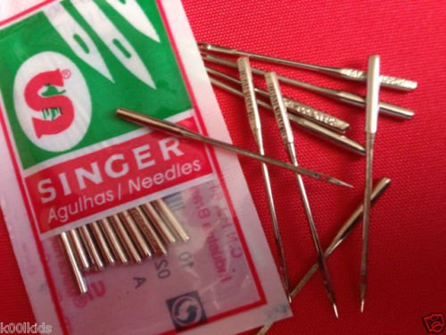 SINGER DOMESTIC SEWING MACHINE NEEDLES SIZE 40 4040 ONE PACK OF Interesting Singer Sewing Machine Needle