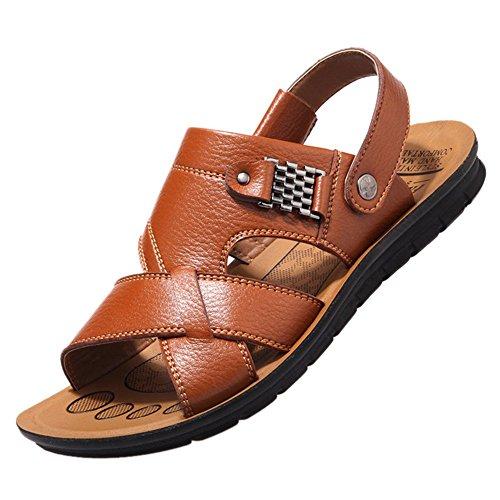 Keplia Skidproof Lightweight Cool Sandels Zomer Heren Sandalen Geel