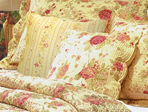 Greenland Home Antique Rose Pillow Pair Accessory, Multicolor