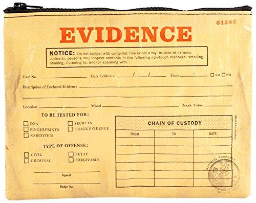 Blue Q Bags, Zipper Pouch, Evidence