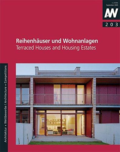 (Reihenhäuser und Wohnanlagen: Terraced Houses and Housing Estates)