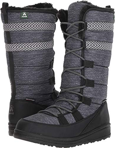 Kamik Women's VULPEX Snow Boot Black 9 Medium -