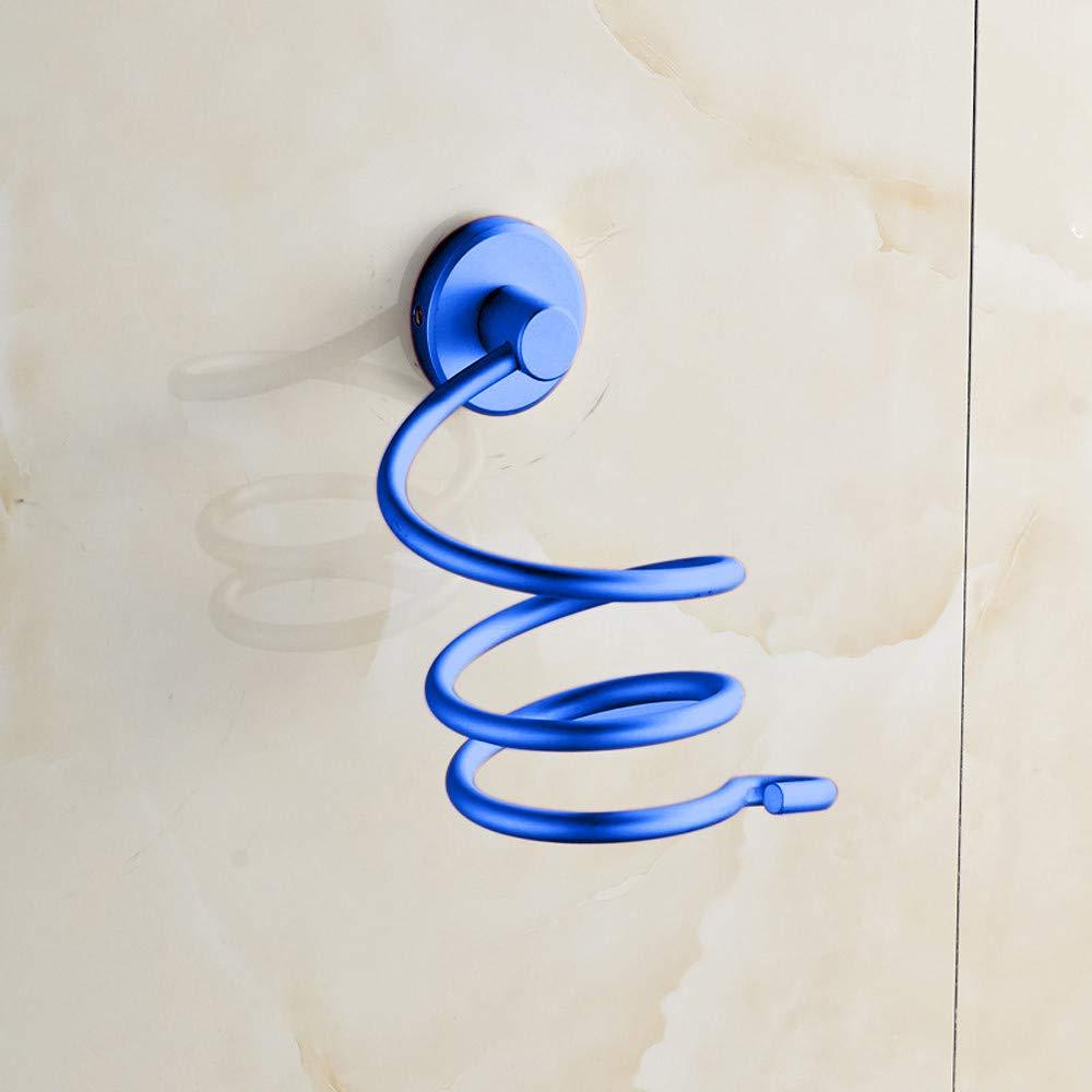 Blau MDenker F/öhngestell Wand F/ön Regal Raum Aluminiumbadezimmer-Wandhalter Regal Speicher F/öhn Regal Halterung