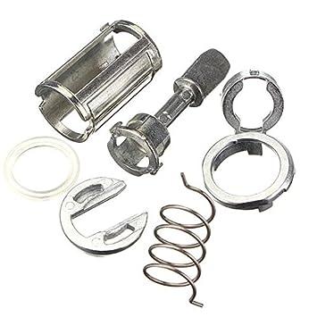 Kit de reparación de la puerta de cilindro de cerradura Para Mk4 Golf IV 4 Bora Frente Derecha Izquierda: Amazon.es: Coche y moto