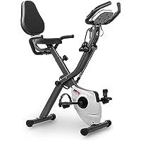 Fitfiu Fitness BEST-320 hometrainer, inklapbaar, met verstelbare rugleuning en elastische touwen, hartslagmeter en…