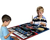 Ginzick Kids Music Play Together Piano Drum Set Playmat