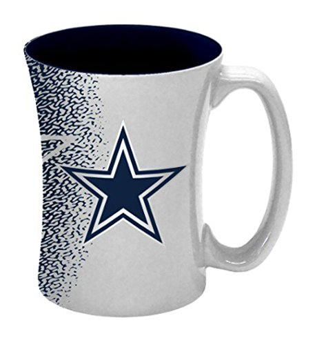 NFL Dallas Cowboys Mocha Mug, 14-ounce,
