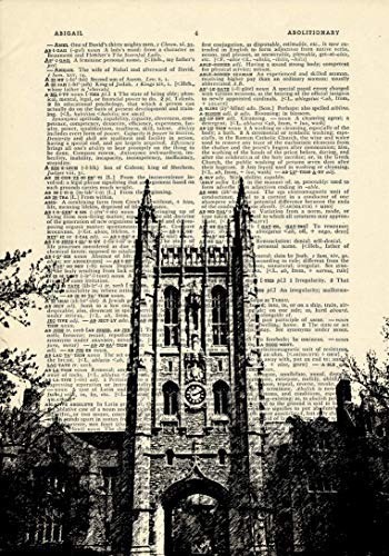 Missouri Memorial Union Building University of Mizzou Printed on Dictionary Paper ()