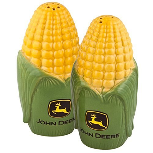 John Deere Corn Salt & Pepper Set by Mueangpan