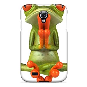 Hard Plastic Galaxy S4 Case Back Cover,hot Lotus Position Case At Perfect Diy